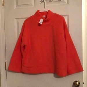 Coral Sherpa Top